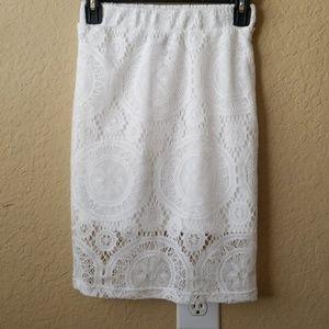 All Purpose White Skirt